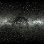 De eigenbeweging van twee miljoen sterren in de Melkweg komende vijf miljoen jaar in beeld gebracht