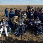 Bemanningsleden ISS terug op aarde